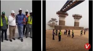 (VIDEO) 2nd Niger Bridge: Work reaches 33% with Feb 2022 target set