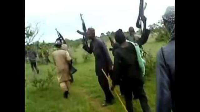 Again, bandits surrender 8 AK47 rifles, 1 Rocket launcher, 1Map machine, 1,041 live ammunitions