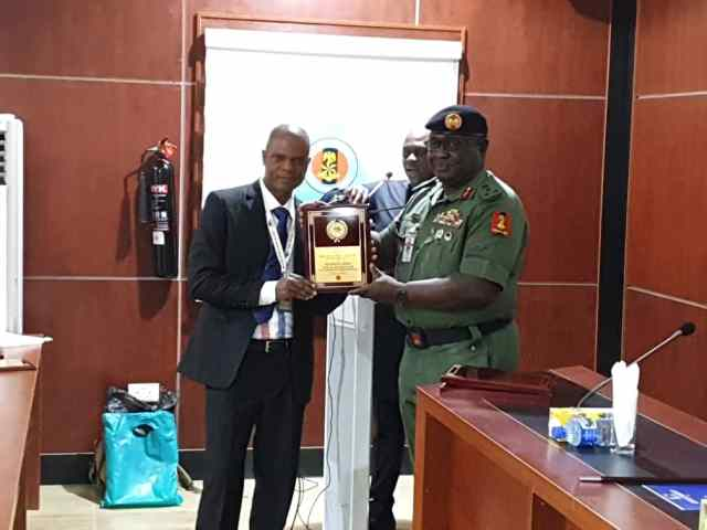 Buratai wins award as most outstanding Chief of Army Staff