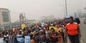 Bayelsa: Thousands protest over Supreme Court's ruling