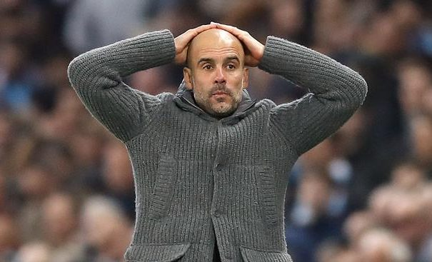 Guardiola, Manchester City  Manchester City handed two years Champions League ban #Nigeria Guardiola11 e1581718655408