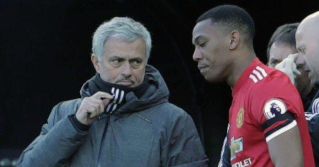 Anthony Martial, Jose Mourinho