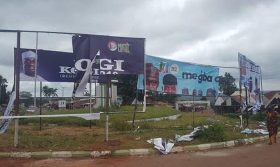 Kogi Gov, Bello, orders demolition of campaign billboards
