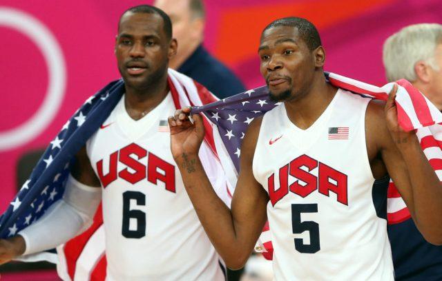 LeBron, Durant, USA, basketball, Olympics
