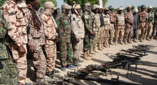 Force Commander, MNJTF visits Amphibious Units in Lake Chad, commends troops resilience