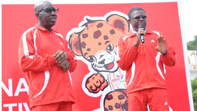 "Gov. Godwin Obaseki of Edo on Friday flagged off the countdown to the 2020 National Sports Festival (NSF) holding in Benin, saying the festival would help to unite the entire nation.  Speaking at the countdown and sensitisation rally at the Edo Government House in Benin, the governor pointed out that it was exactly 31 days to the NSF.  ""This festival is a festival of unity to unite Nigerians. It is a festival to encourage Nigerian youths and a festival that will take the country to the next level.  ""We are here to begin the countdown. For a big event like the NSF, we have to commence the publicity from now.''  He then commended media houses for the support being given to the Edo government as it prepares to host the festival.  Also speaking, the Edo Deputy  Governor, Philip Shaibu, disclosed that accommodation had been prepared for about 11,500 athletes and officials expected to participate in the game.  Shaibu added that proprietors of hotels across the state had agreed to give a 30 per cent discount for accommodation for the guests and spectators.  ""From 10 days to the opening of the game, we will publish the names of the hotels and the prices of the rooms to enable our visitors check and know which one they can afford.''(NAN)"