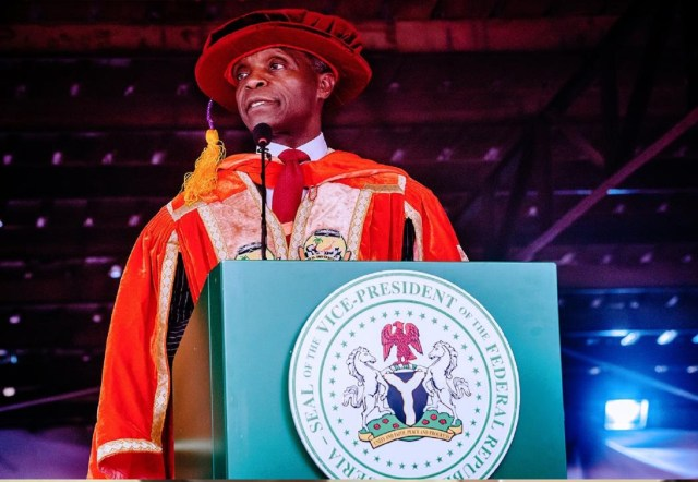 Facing The New Decade: Letter to young Nigerians by Prof Yemi Osinbajo