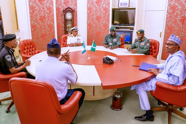 Sack Service Chiefs now, Buhari urged