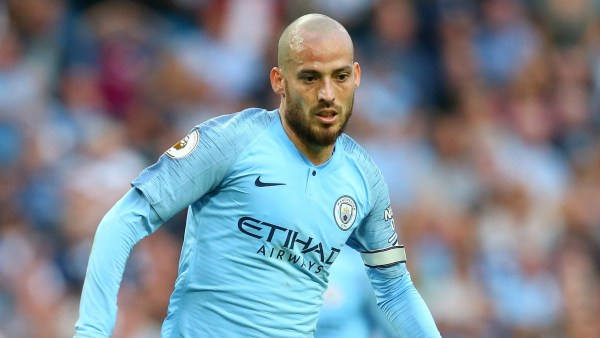David Silva races to recover from injury in time for Real Madrid clash
