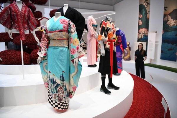 From samurais to Jedi knights, kimono stars in London show