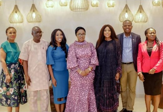 Lagos tourism, arts and culture commissioner visits EbonyLife place