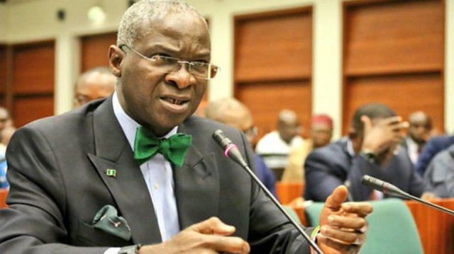 Nigerian building institute confers fellowship on Fashola