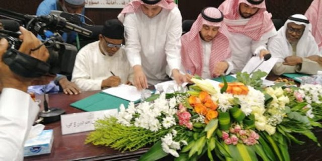 Hajj: NAHCON signs agreement on services for pilgrims