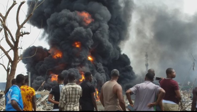 Lagos Explosion: Father, mother, 2 sons die while going to church