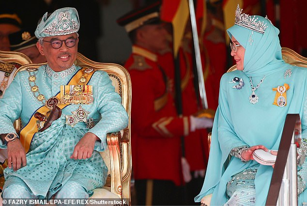 Malaysia's king and queen quarantined after seven palace staff members tested positive