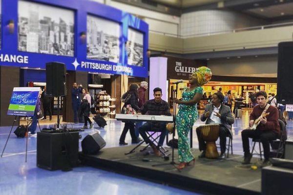 Image result for Jemiriye Adeniji Thrill Fans At Pittsburgh Airport