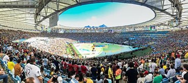 Brazil's football clubs offer stadiums to help with coronavirus sick