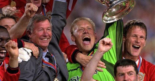 Peter Schmeichel, Man United
