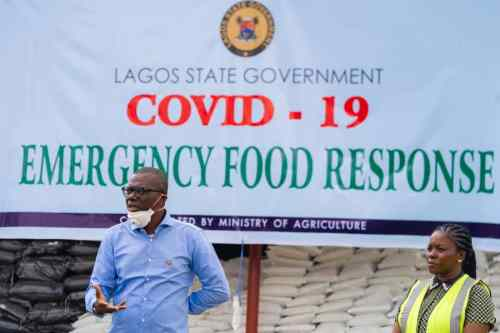 COVID 19: Sanwo-Olu to provide emergency food response (Pictures)