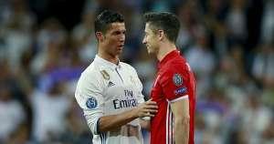 Ronaldo, Ramos, Lewandowski, Real Madrid