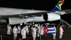 US, South Africa, Cuban doctors