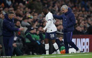 Jose Mourinho, Tanguy Ndombele