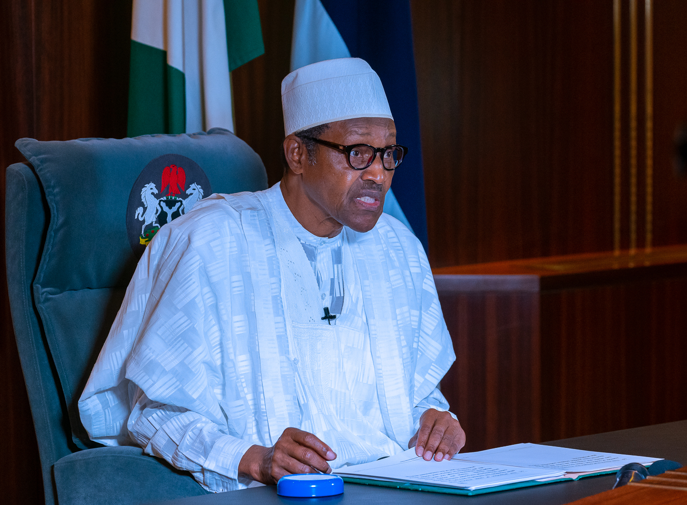 COVID-19: Buhari warns ECOWAS leaders against laxity
