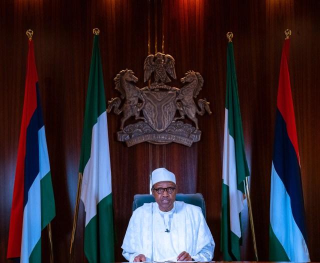 Buhari's speech in brief