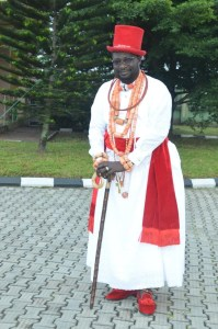 I have no issue with Olu of Warri designate ― Ayiri
