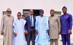 """South-West Governors on Sunday met in Lagos to strategise on improved security in the region following to the recent EndSARS protest mayhem. In his opening remark, Chairman, South-West Governors' Forum, Rotimi Akeredolu, said that the region had gone through a lot in recent time. Akeredolu, who is also the Governor of Ondo State, said that when the EndSARS protest started in the South-West and other parts of the country, the police were guiding the protesters. He said that what started as a peaceful demonstration by the youths eventually turned to a different thing. """"In recent past, our experience has been most worrisome, everybody is worried, everybody is concerned, we have to sustain the peace we have started noticing. """"We are worried. What we are seeing in the last days shows that something needs to be done,´´ Akeredolu said. He said that the meeting was to improve on the relationship in the South-West region and find solutions to youth unrest. """"What we have witnessed in the South-West is a great attack on our heritage. We must have collaboration across the board. We need the cooperation of the Federal Government so that this does not repeat itself,´´ the Ondo governor said. He urged the governors to be up and doing in their duties, adding that the welfare of the people was paramount. Lagos State Governor, Babajide Sanwo-Olu, said that the South-West region had serious issues of security confronting the people. Sanwo-Olu said that over 500 vehicles, both public and private were destroyed, hospitals, monarch palace, among others, were not spared. In his address, the Chief of Staff to President Muhammadu Buhari, Prof. Ibrahim Gambari, said the meeting was for those in government to retrace their steps and have a rethink of a better way to engage the youths more to prevent their restiveness. Gambari noted that President Buhari was aware of the level of destruction to private and public infrastructure in Lagos. He reiterated the federal government's commitment to add"""