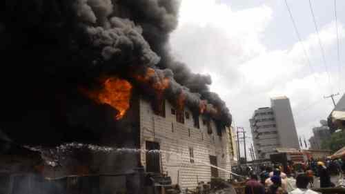 BREAKING: Dugbe Market in Ibadan on fire [Photos]