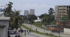 Gabon, Lockdown