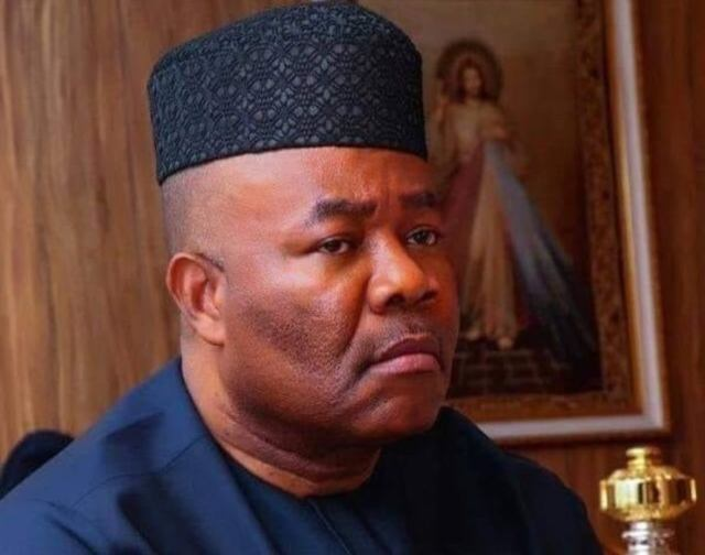 Akpabio denies sexual harassment allegation, calls it 'litany of lies'