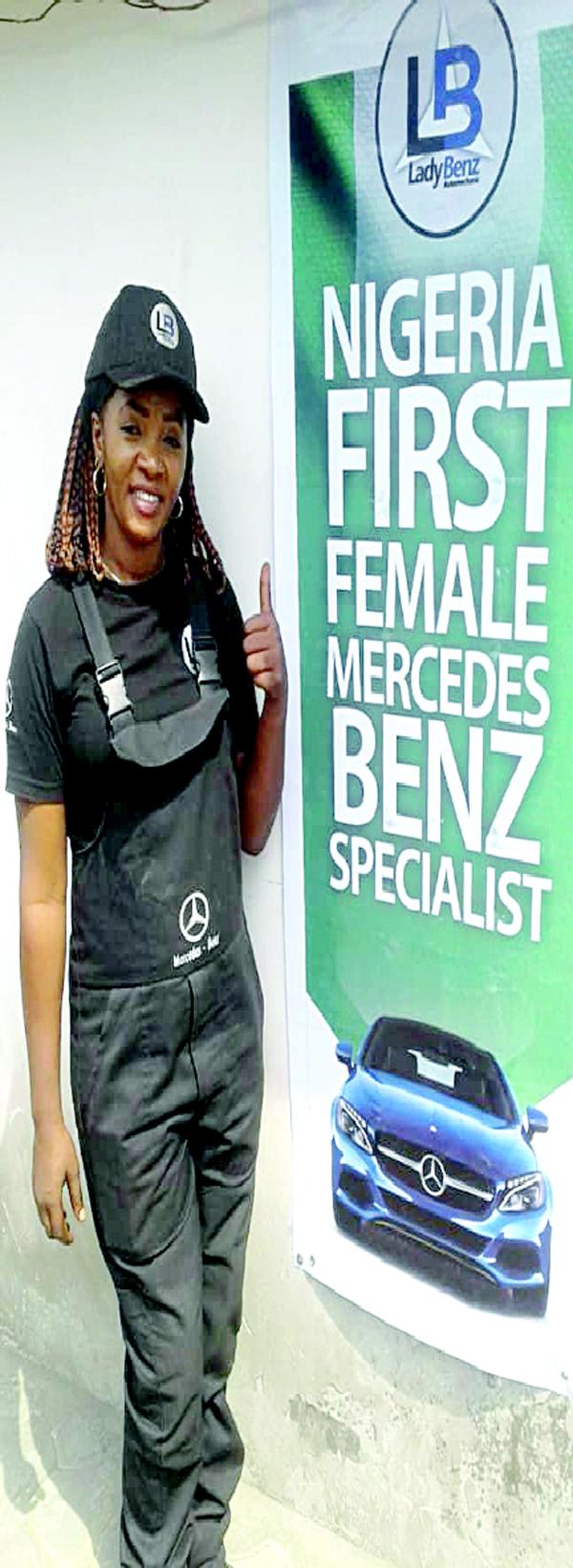 Joy Obi Amuche: From street hawker  to Mercedes  Benz specialist