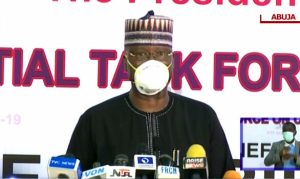 COVID-19: PTF urges religious leaders to ask congregation to wear facemask
