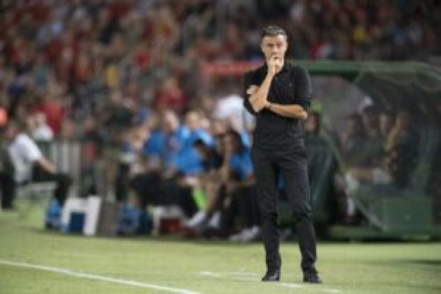 Football without fans 'sadder than dancing with your sister', says Luis Enrique