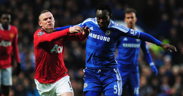 Essien reveals Chelsea player that persuaded him to reject Man United