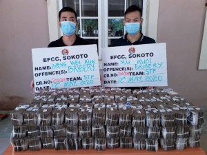 Court grants bail to 2 Chinese accused of offering N100m bribe to EFCC officers