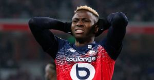 Amunike warns Oshimhen not to go to Liverpool