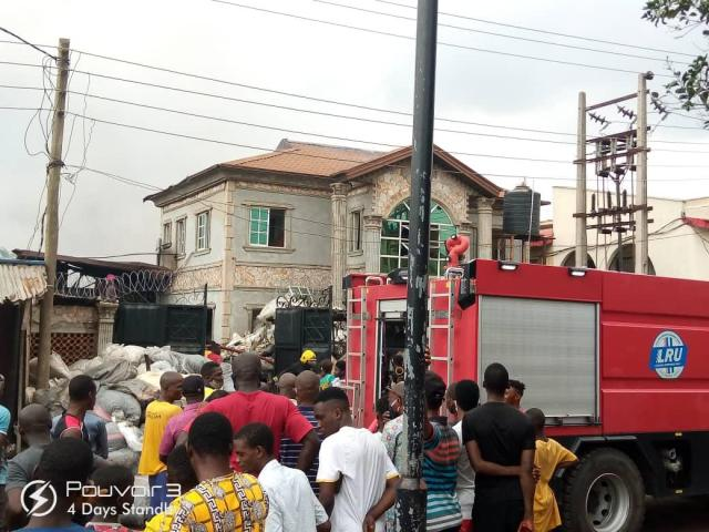 Mystery midnight fire guts 228 shops, several vehicles in Lagos market