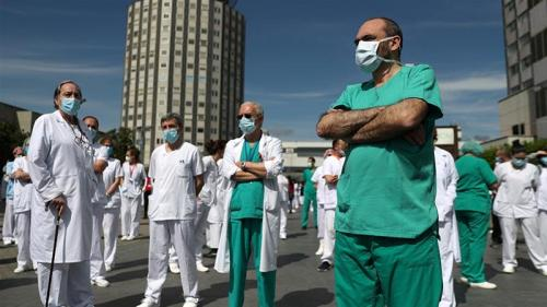 Spain begins 10-day mourning period for coronavirus victims