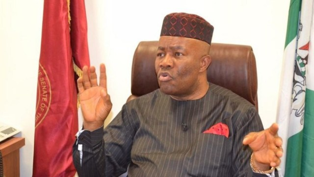 #EndSARS: Shun violence, Akpabio tells Niger Delta youths