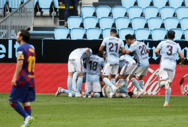 Barca annoyed, frustrated after Celta draw, says Suarez