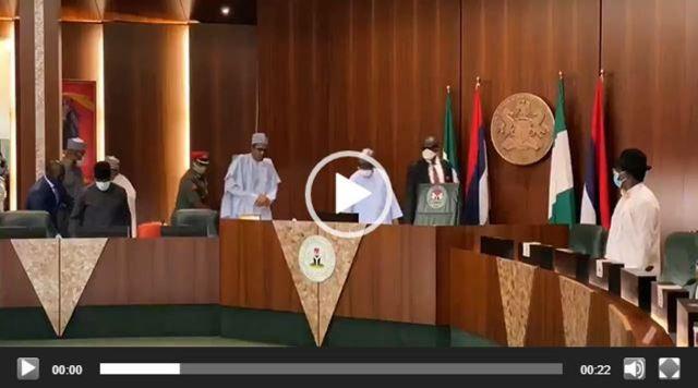 APC NEC meeting kicks-off, Buhari, 16 govs, pro-Oshiomhole group in attendance