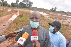 Flooding: Edo Govt assures on timely completion of water detention pond project