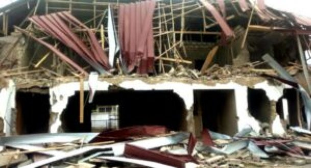 Demolition of Nigeria High Commission buildings in Ghana