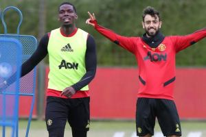 Man United's Fernandes relishing potential partnership with Pogba