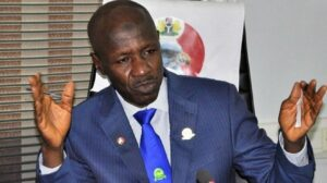 BREAKING: EFCC boss, Magu suspended