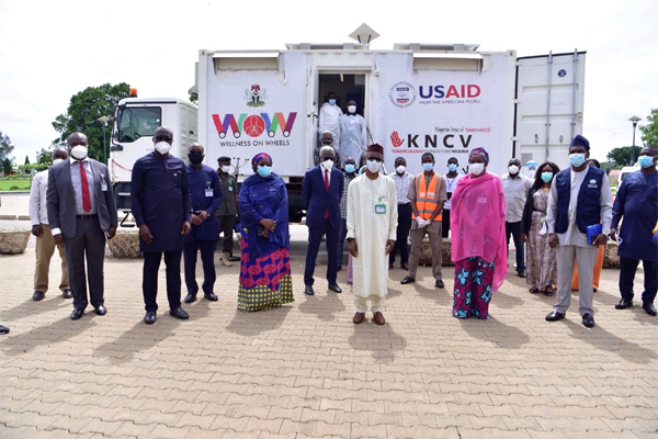 Fight against Covid-19: USAID donates vehicle to Kaduna