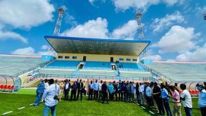 Somalia reopens renovated national stadium in Mogadishu